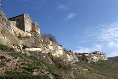 Antycznej jamy grodzki Kale, Bakhchysarai, Crimea Fotografia Royalty Free