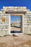 antycznej koloni greckie khersones ruiny Obrazy Royalty Free