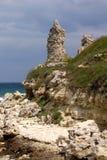 antycznej koloni greckie khersones ruiny Obraz Royalty Free