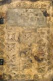 antycznej tła książki antyczny średniowieczny tekst Zdjęcia Royalty Free
