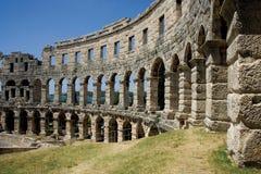 antyczni amphitheatre pula Zdjęcia Stock