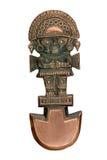 antyczni ceremonialni knive peruvian zdjęcie stock