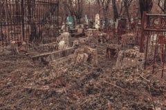 Antyczni cmentarniani nagrobków zabytki anioła mistycyzmu tajemnicy ducha duchy przynoszą śmierć obraz royalty free