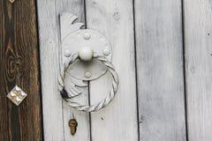 Antyczni drzwi Obraz Royalty Free