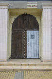 Antyczni drzwi Zdjęcia Royalty Free