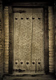 Antyczni drzwi zdjęcie royalty free