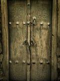 Antyczni drzwi obrazy royalty free