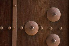 Antyczni drzwi Close-up wizerunek Fotografia Stock