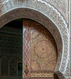 Antyczni drzwi, Maroko Zdjęcie Royalty Free