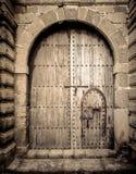 Antyczni drzwi, Maroko Obraz Royalty Free