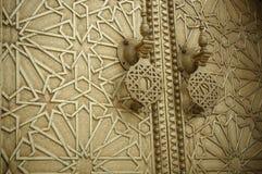 Antyczni drzwi, Maroko Zdjęcia Stock