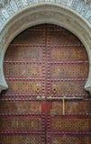 Antyczni drzwi, Maroko Obrazy Royalty Free