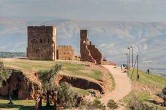 Antyczni Merenid grobowowie w fezie, Maroko Fotografia Stock
