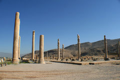 antyczni miasta kolumn Iran persepolis Zdjęcie Royalty Free