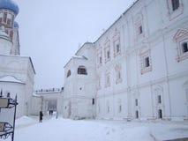 Antyczni miasta północno-wschodni Rosja Ryazan obrazy stock