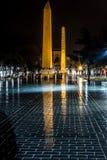 Antyczni obeliski fotografia stock