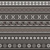 Antyczni ornamenty Wektorowi Zdjęcia Royalty Free