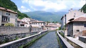 Antyczni pałac w mieście Vittori Veneto zdjęcie wideo