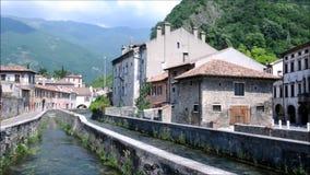 - Antyczni pałac w mieście Vittori Veneto zdjęcie wideo
