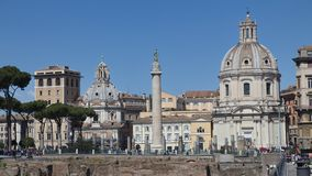 Antyczni Rzym arcydzieła zdjęcie royalty free