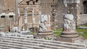 Antyczni Rzym arcydzieła, Rzym zdjęcie stock