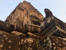 antyczny łuczniczka Kambodża zdjęcia royalty free
