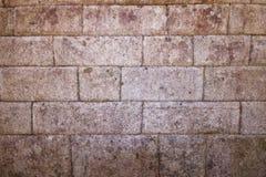 antyczny ściana z cegieł Fotografia Stock