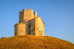 Antyczny średniowieczny chorwacki kościół St Nicholas Obrazy Royalty Free