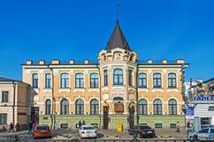 Antyczny środkowy urzędu pocztowego budynek Zdjęcia Stock