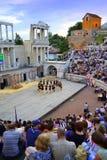 Antyczny amfiteatru występ Zdjęcie Stock