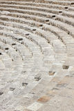 Antyczny amphitheatre na Cypr obraz royalty free