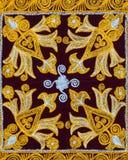 Antyczny, arabski, architektura, sztuka, tło, Bukhara, dekoracja, projekt, kwiecisty, geometria, złoto, wnętrze, islam, islamski, Zdjęcie Stock