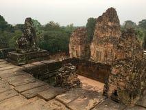 antyczny architektura Pre Rup świątynia Kambodża zdjęcia stock