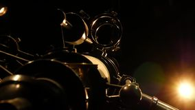 Antyczny astronomiczny teleskop zbiory wideo