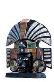 antyczny aztec popiersia bóstwo Obraz Stock