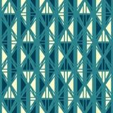Antyczny błękitny bezszwowy wzór ilustracja wektor