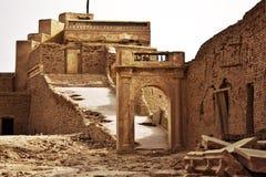 Antyczny Bricked fort Zdjęcia Stock