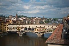 antyczny bridżowy Florence Zdjęcia Royalty Free