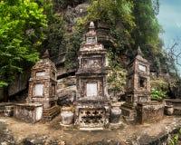 Antyczny buddyjski pagodowy Bich binh ninh Vietnam Zdjęcia Royalty Free