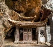 Antyczny buddyjski pagodowy Bich Dong binh ninh Vietnam Zdjęcia Royalty Free