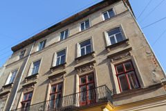 Antyczny budynek w Lviv Obraz Stock