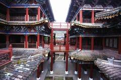 Antyczny chiński pałac zdjęcia royalty free