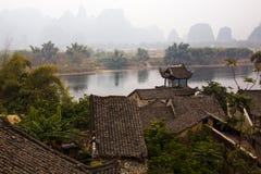 antyczny chiński kraj Obraz Royalty Free