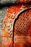 antyczny chiński okno Fotografia Stock