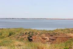 Antyczny dawności wyspy morze Zdjęcia Royalty Free