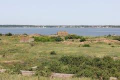 Antyczny dawności wyspy morze Obraz Royalty Free