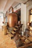 Antyczny destylator dla produkci pachnidło w Fragonard obraz royalty free