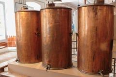 Antyczny destylator dla produkci pachnidło w Fragonard zdjęcie stock