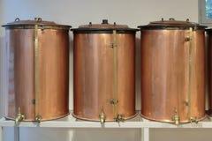 Antyczny destylator dla produkci pachnidło w Fragonard fac obrazy stock