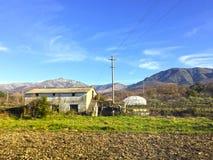 Antyczny dom na wsi Fotografia Royalty Free